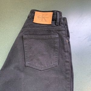 Calvin Klein denim shorts black 29 actual …